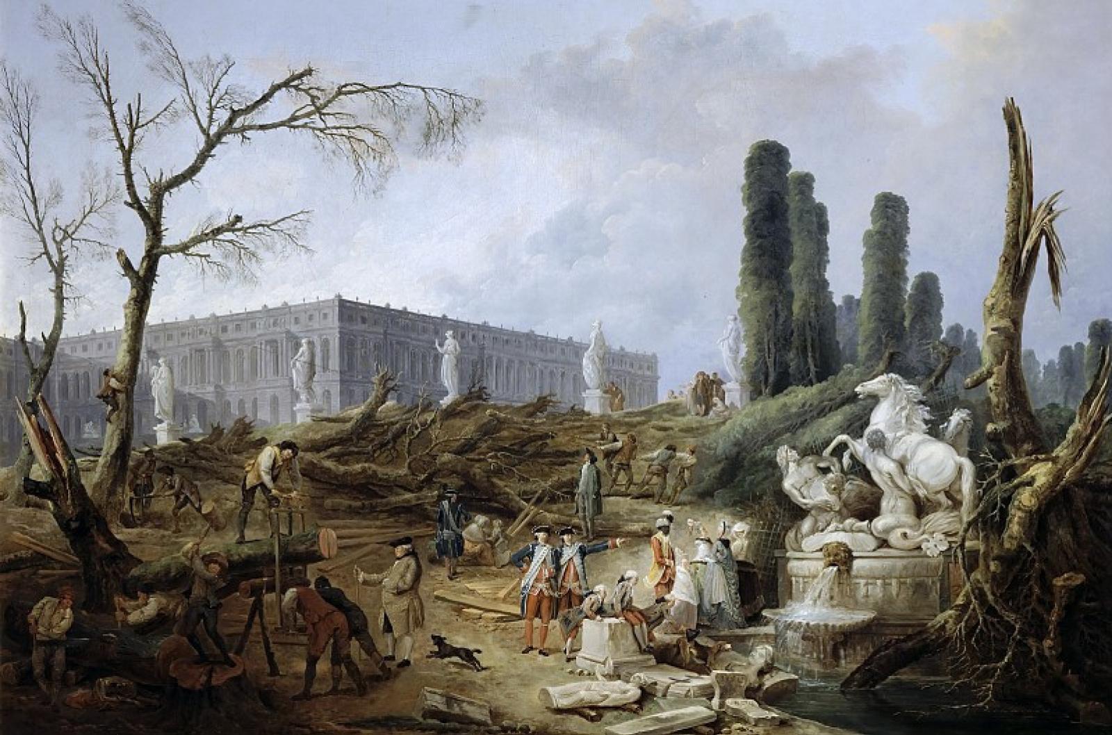 Gardens Of Versailles Fountains 2