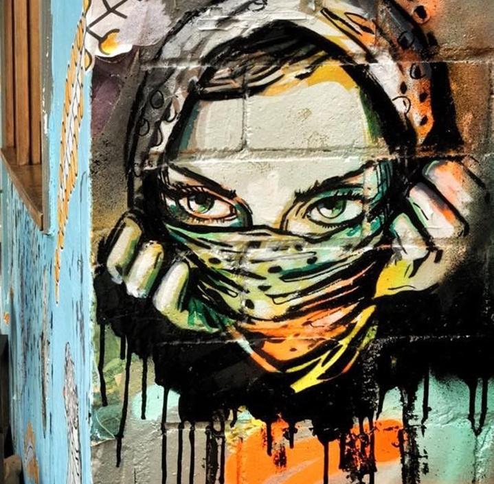 Alice Pascini. Murals in Sydney