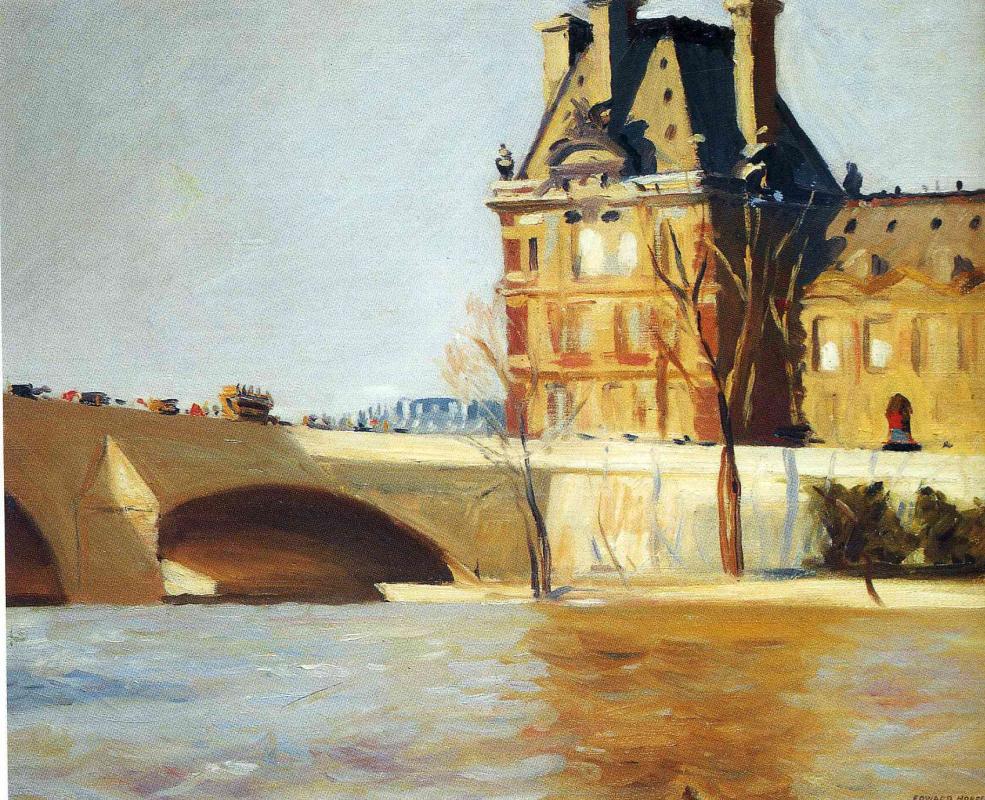 Edward Hopper. Royal bridge