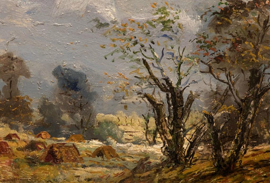 """Eduard Tynisovich Kutsar. Sügis (""""Autumn"""")"""