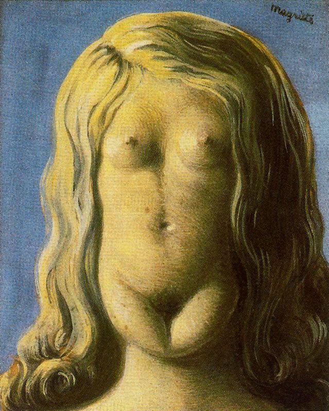 René Magritte. Rape
