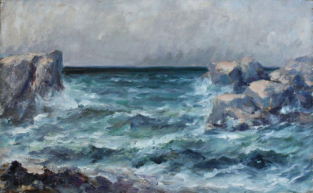 Sergey Nikolayevich Sokolov. Blue bay