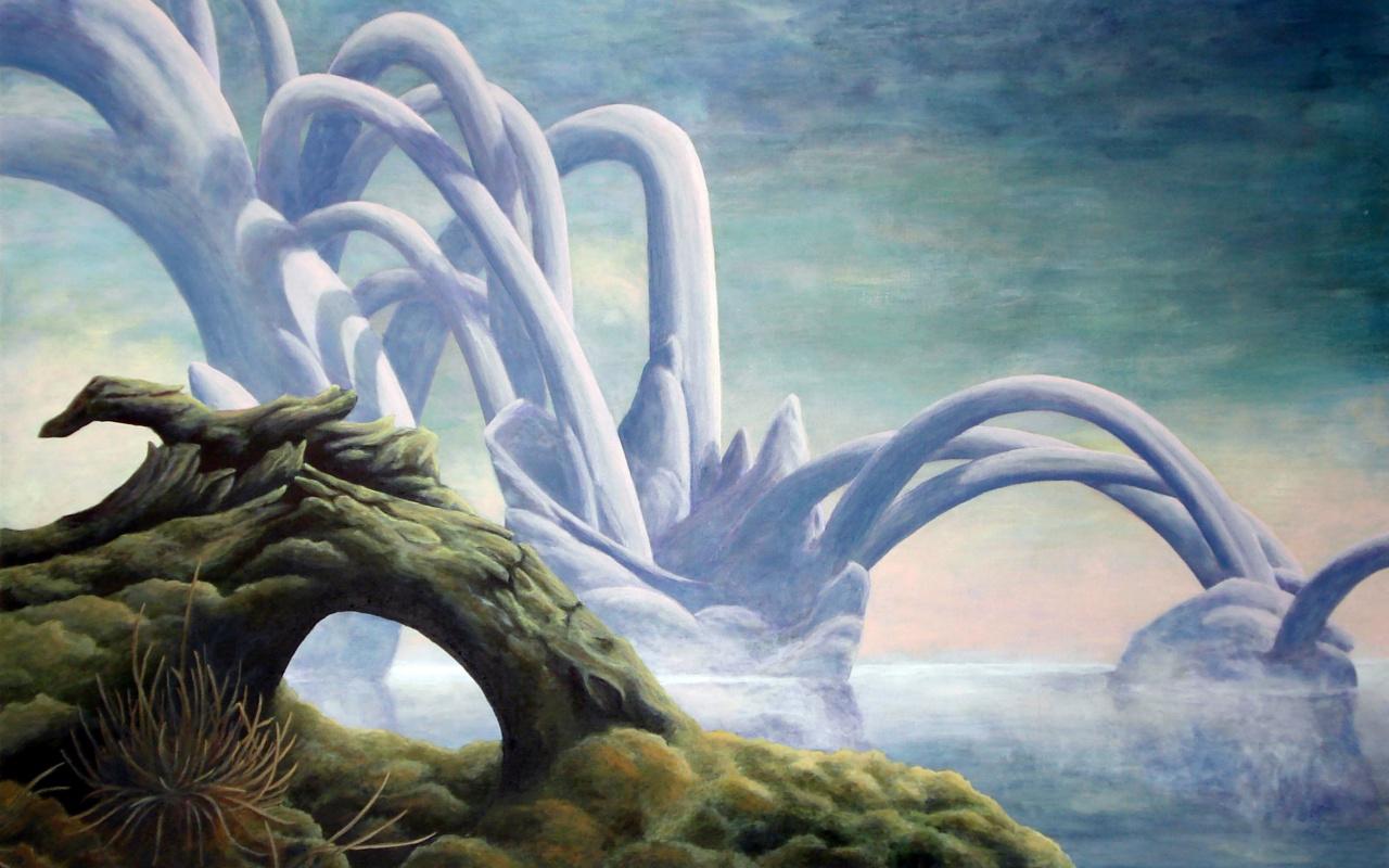 Roger Dean. Landscape