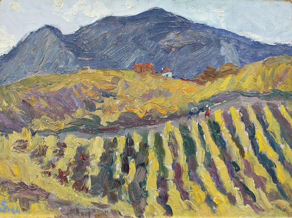 Orest Georgievich Betekhtin. Yellow vineyard