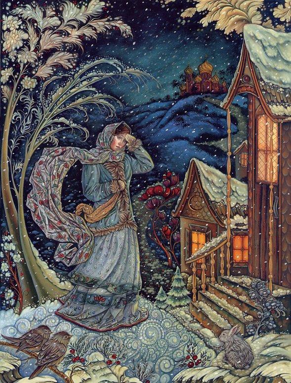 Laurel Long. Winter story