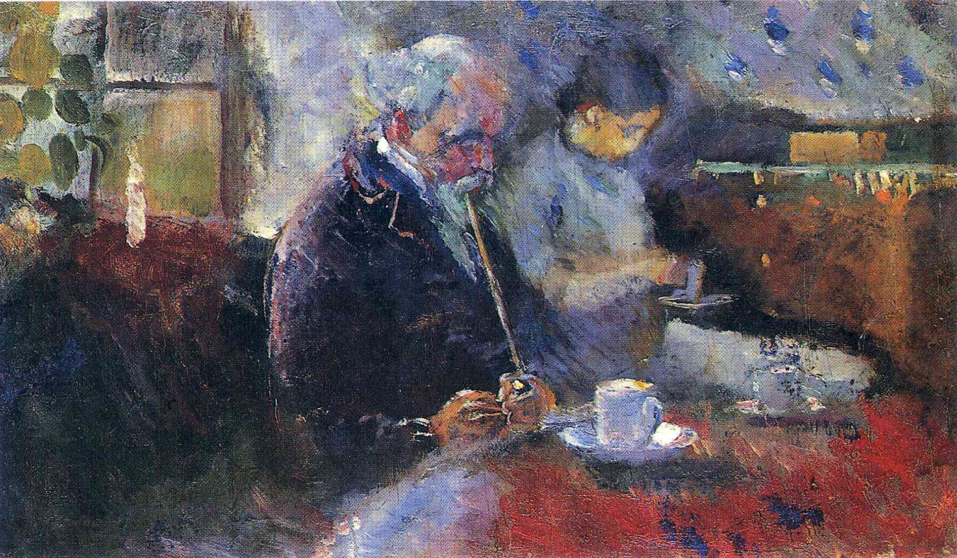 Edvard Munch. For a coffee table