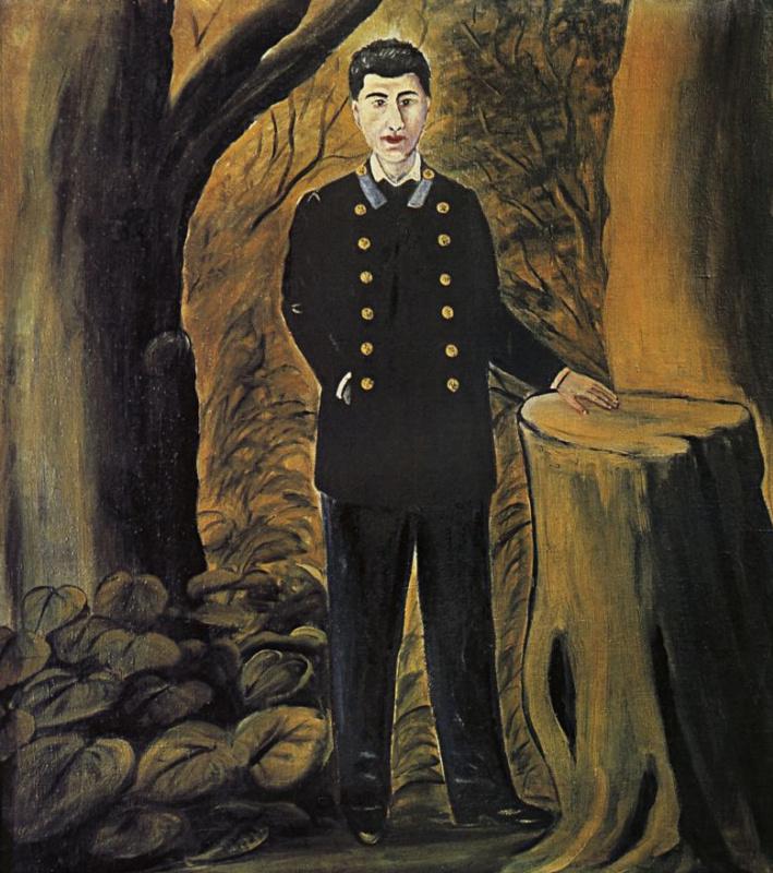 Нико Пиросмани (Пиросманашвили). Портрет Ильи Зданевича