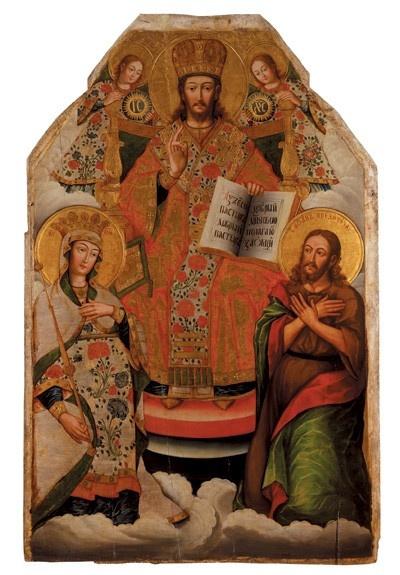 Украинская Икона. Деисус