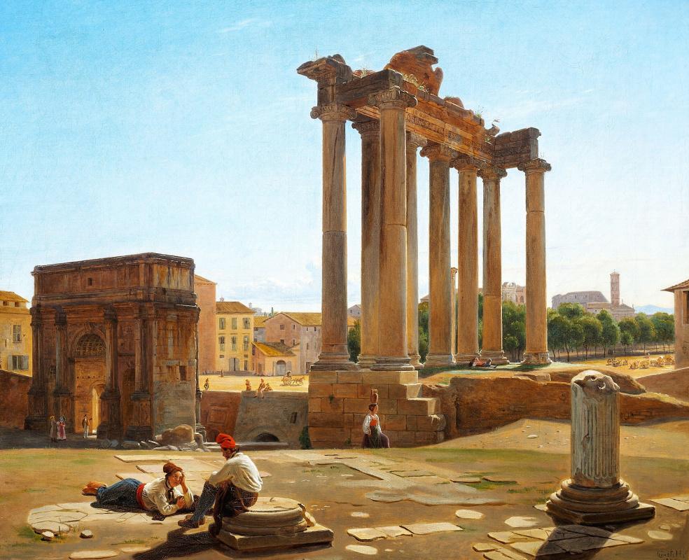 Constantine Hansen. Roman forum