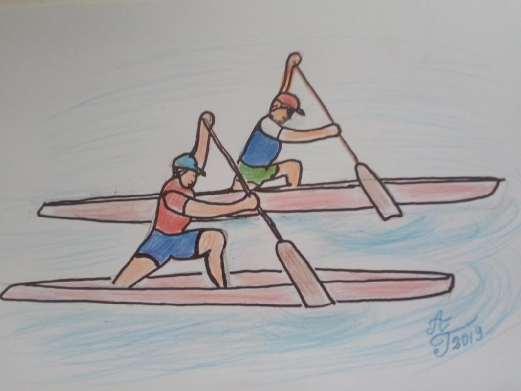 Alexey Grishankov (Alegri). Canoeing