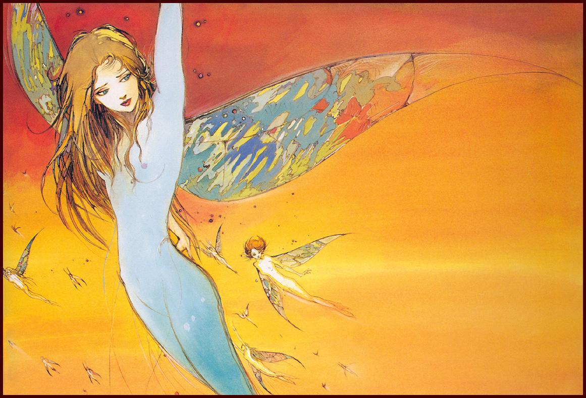 Yoshitaka Amano. Wings