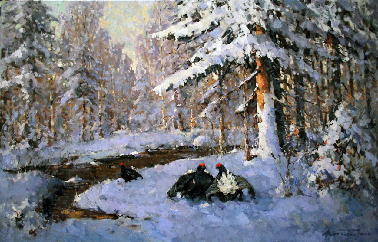 Alexander Markovich Kremer. Wood grouse