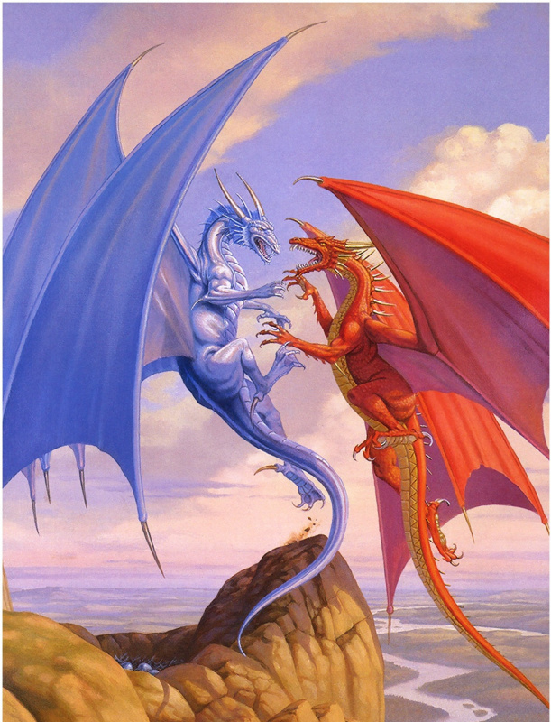 Ларри Элмор. Драконы