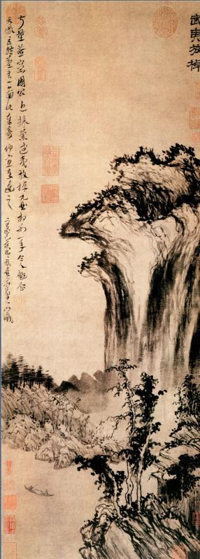 Фан Конг Уи. Пейзаж 093