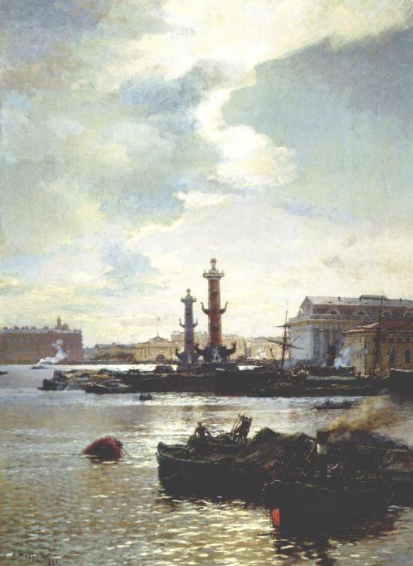 Александр Карлович Беггеров. Петербургская биржа