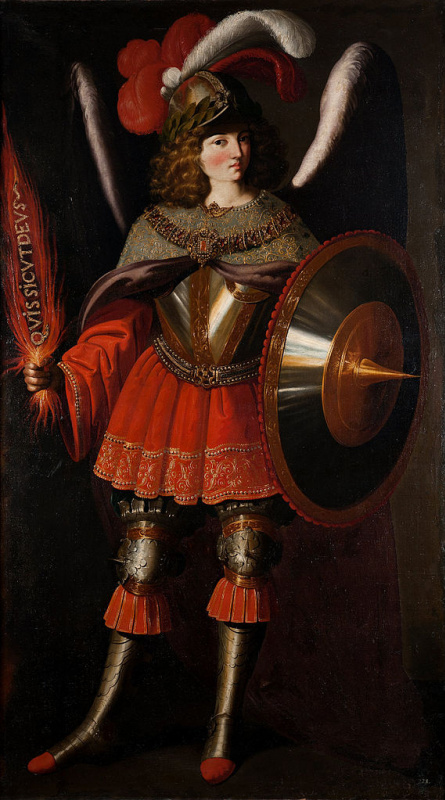 Francisco de Zurbaran. The Archangel Michael