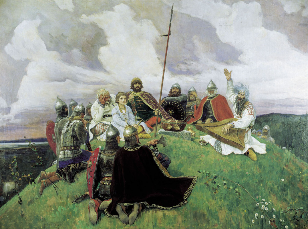 Виктор Михайлович Васнецов. Баян