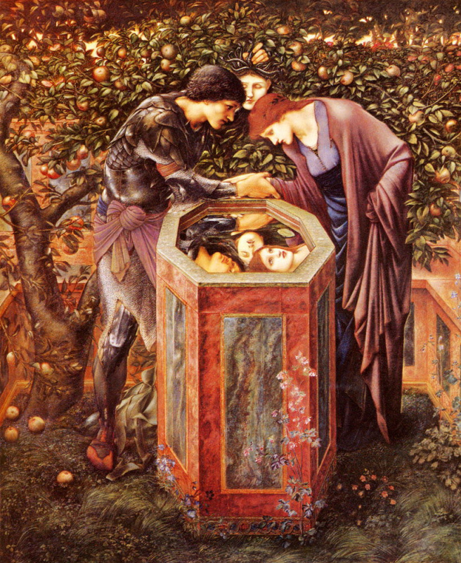 Edward Coley Burne-Jones. The Perseus Series: The Baleful Head
