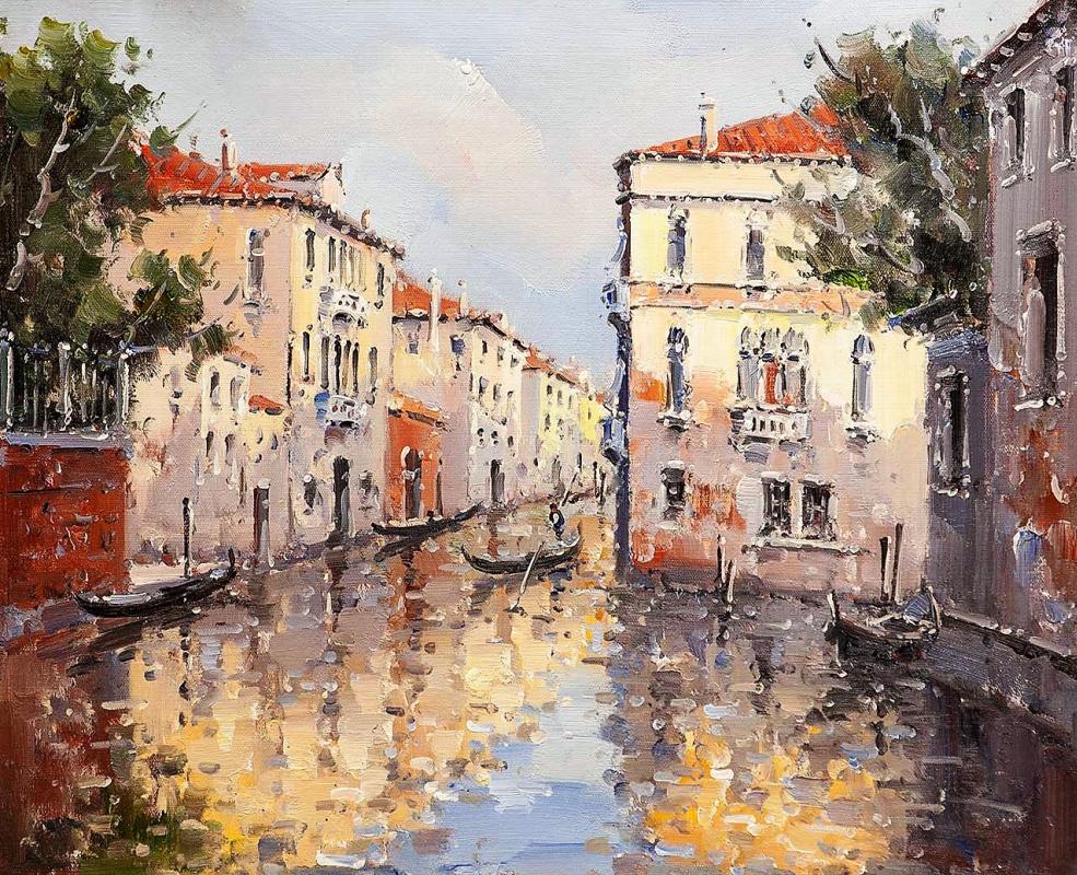 Андрей Шарабарин. Сны о Венеции N31