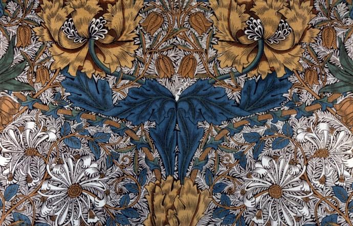 William Morris. Honeysuckle II