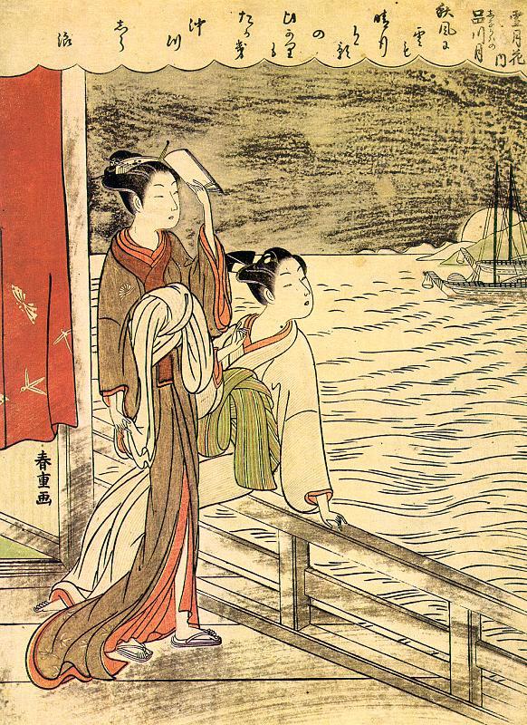 Сузуки Харушиг. Японки 2