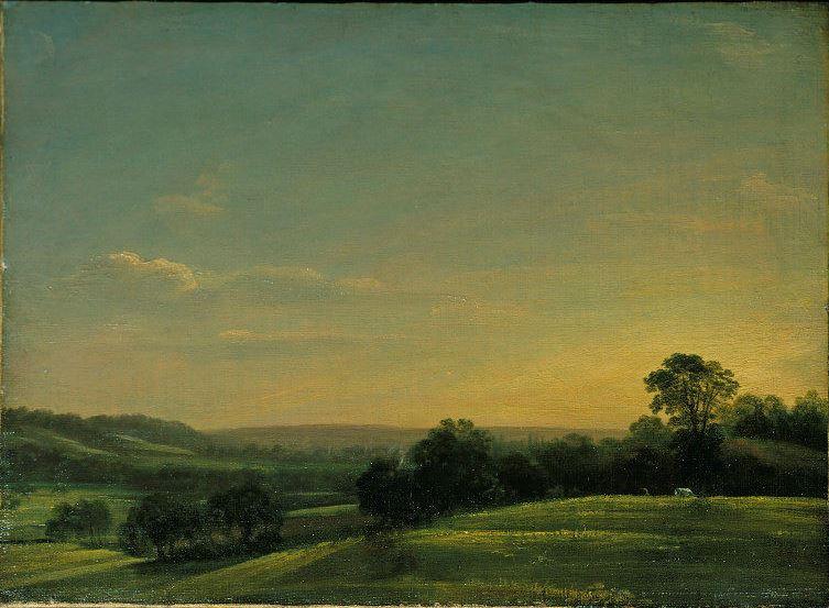 John Constable. Night at Dedham Vale