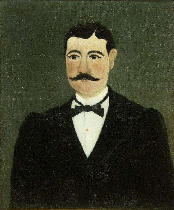 Анри Руссо. Портрет Фруменсе Бише в гражданской одежде