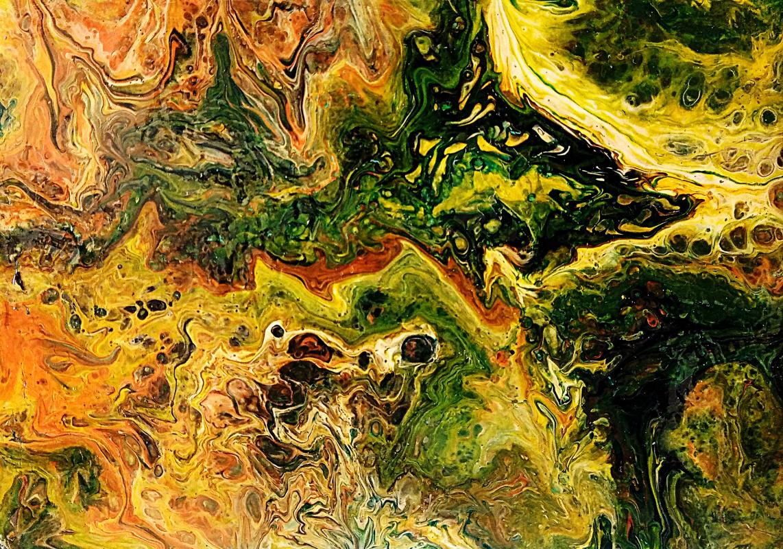 Vasiliy Mishchenko. Abstract 0220 Acrylic