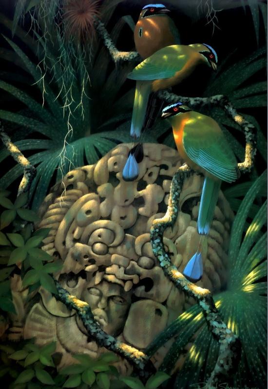 Ричард Слоан. Тропические птицы 1