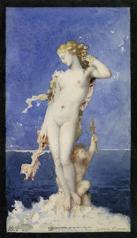 Gustave Moreau. Aphrodite