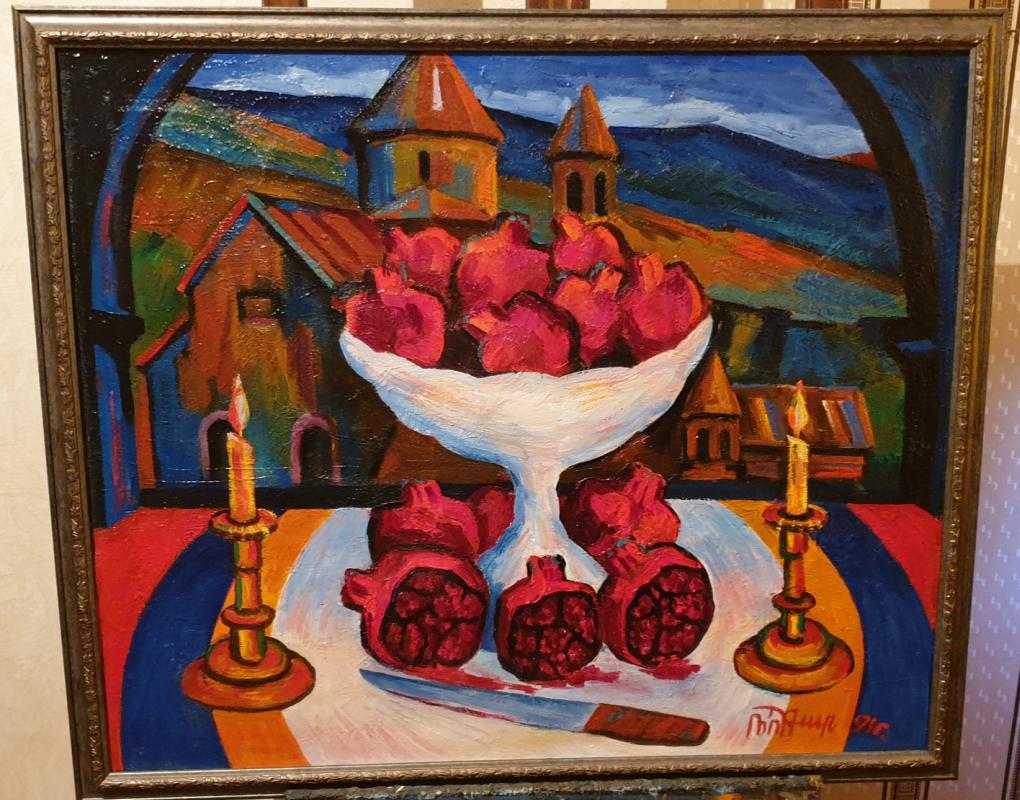 Robert Patwakanovich Gyulazyan. Pomegranate color