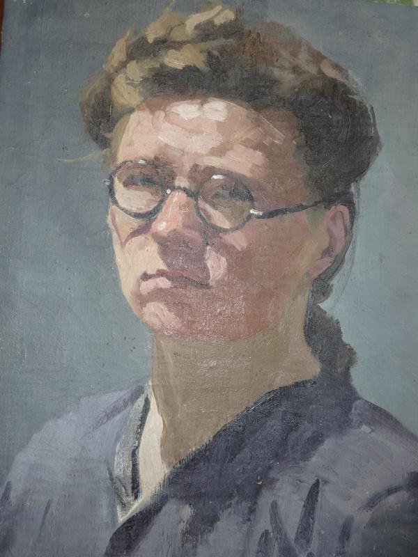 Валентина Павловна Капитонова. Автопортрет
