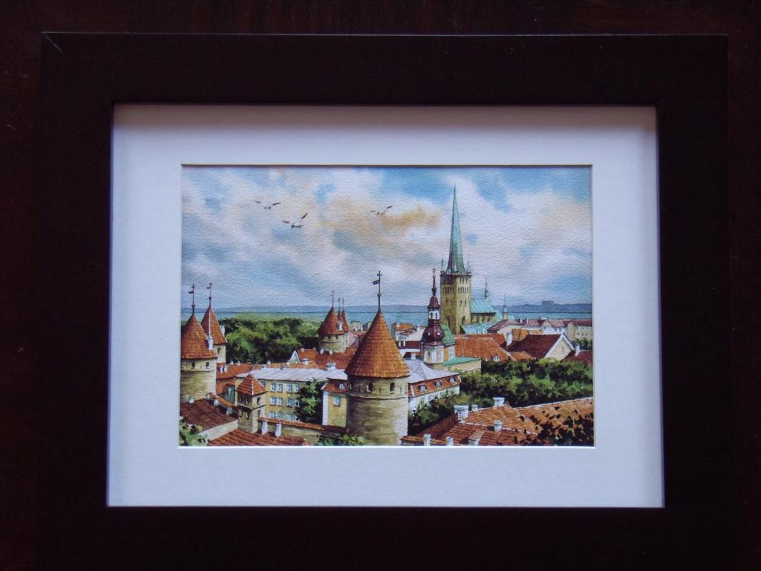 Unknown artist. Old Tallinn.