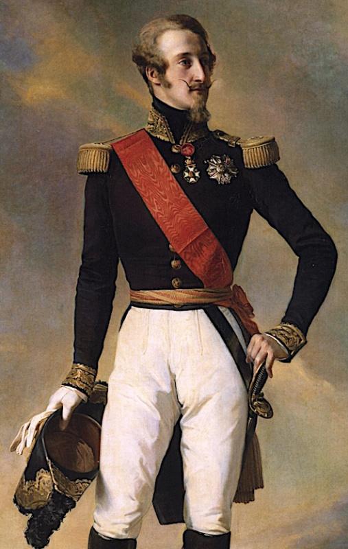 Луи Шарль Филипп Орлеанский, герцог Немура. Фрагмент
