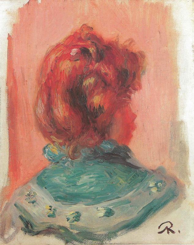 Pierre-Auguste Renoir. Etude