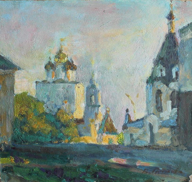 Valentin Alekseevich Popkov. Temple