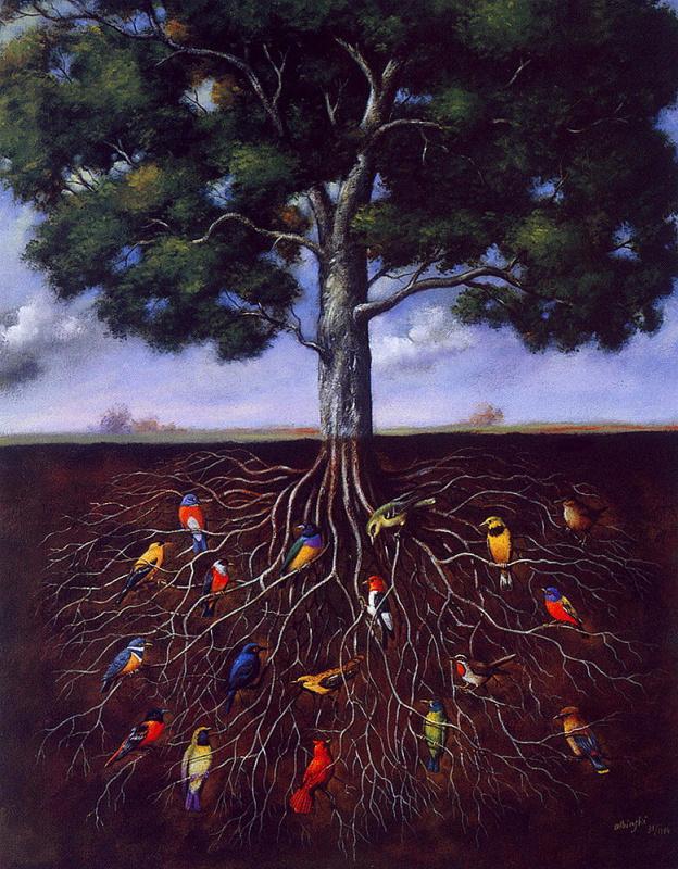 Рафал Ольбиньский. Дерево