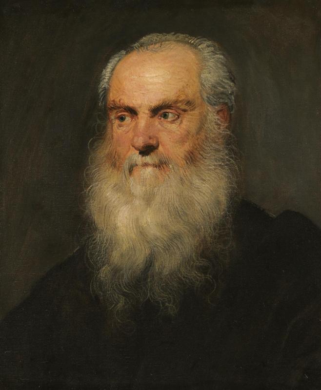 Portrait of an Elderly Bearded Man
