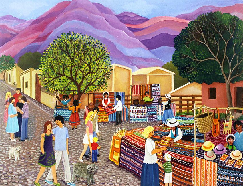 Veronica Labat. Purmamarca Market