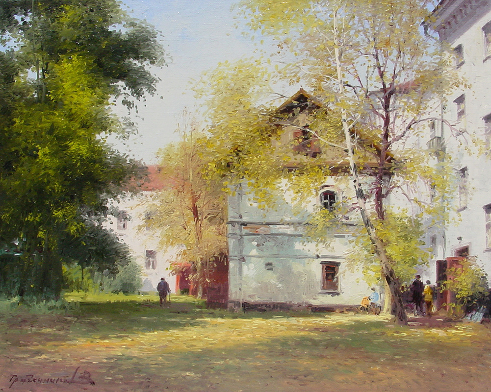 Vasily Ivanovich Gribennikov. Yaroslavsky courtyard