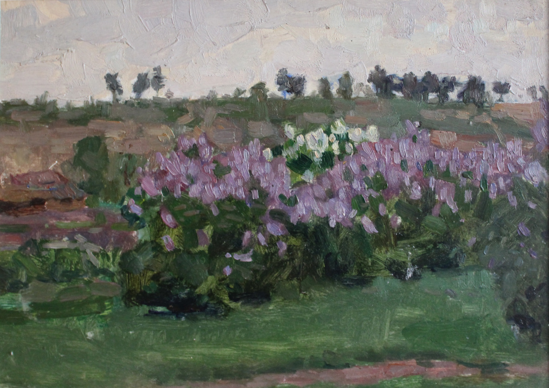 Victor Fedorovich Chudin. Lilac blooms