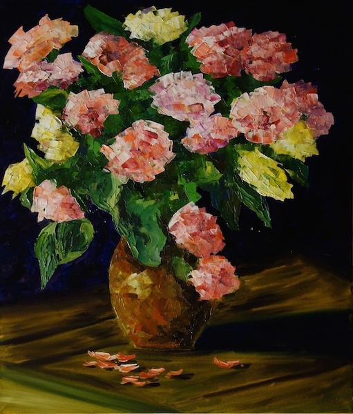 Larissa Lukaneva. A bouquet of roses
