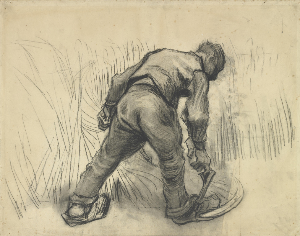 Vincent van Gogh. Reaper