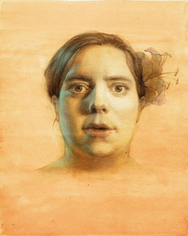Габриэла Деллоссо. Изучение портрета
