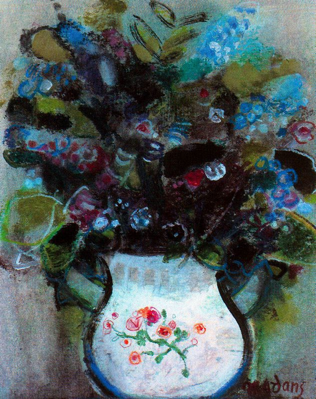 Данс Мария Антония Боадо. Цветы в белой вазе