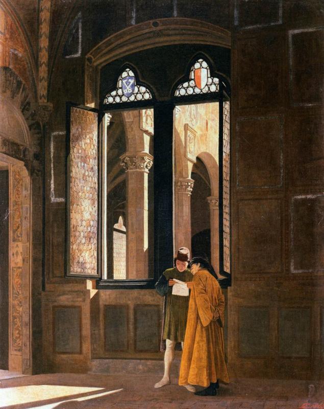 Федерико Дзандоменеги. Палаццо Преторио во Флоренции