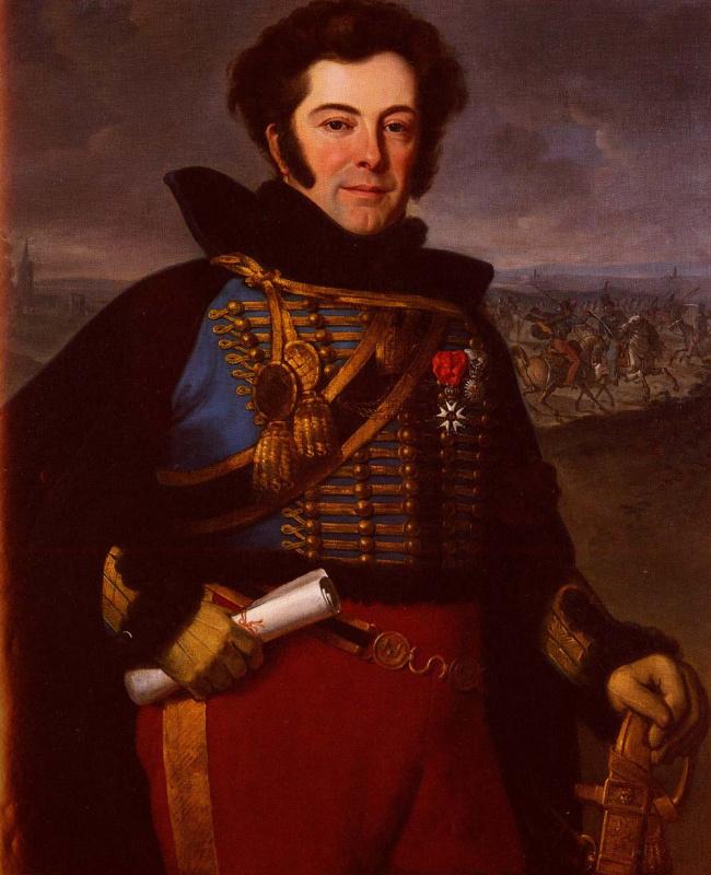 Эмиль Жан Орас Верне. Портрет подполковника, графа де Талуэ