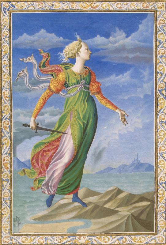 Francesco di Stefano Pezellino. Allegory Of Carthage