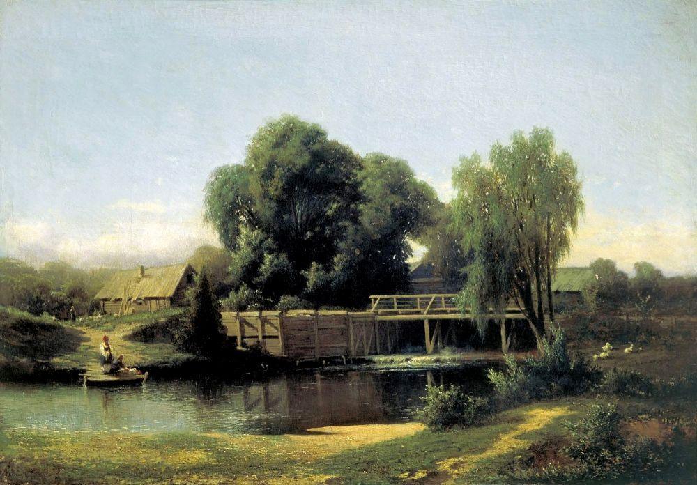 Лев Львович Каменев. У плотины