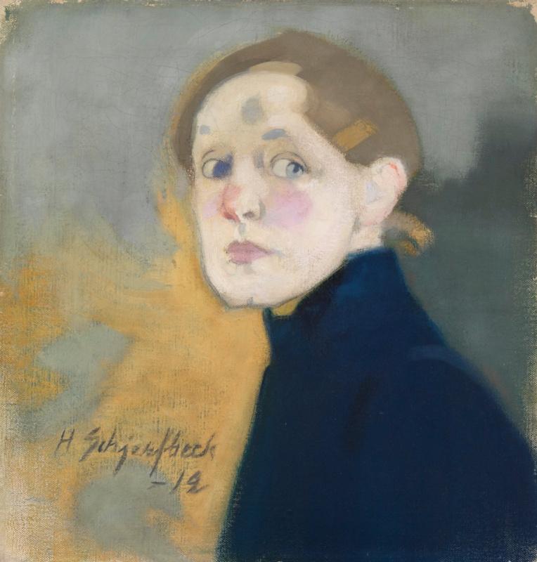 «Автопортрет в синем» (1912)